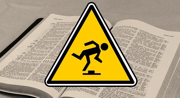 Bibel Stolperstelle