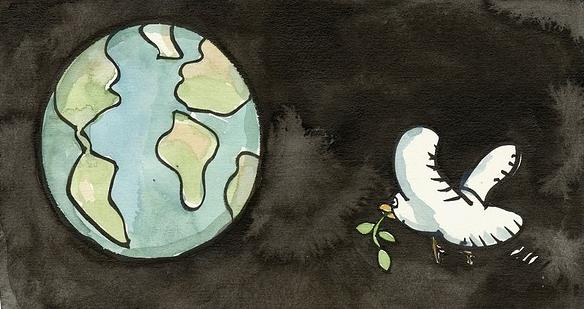 Blogbild Friedenstaube