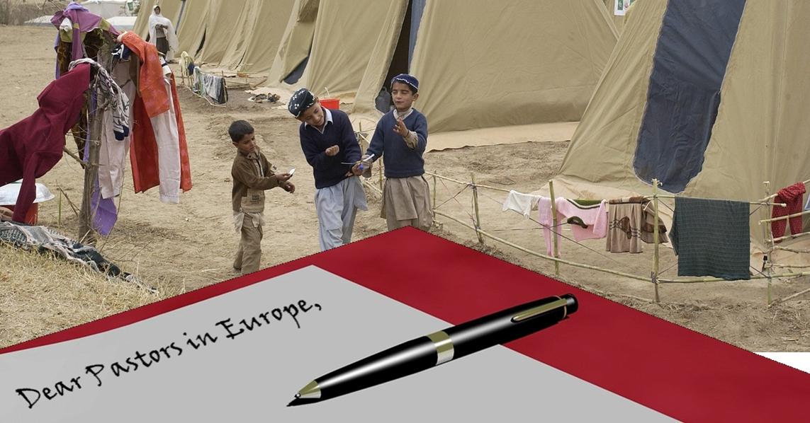 Brief Fluechtlinge englisch
