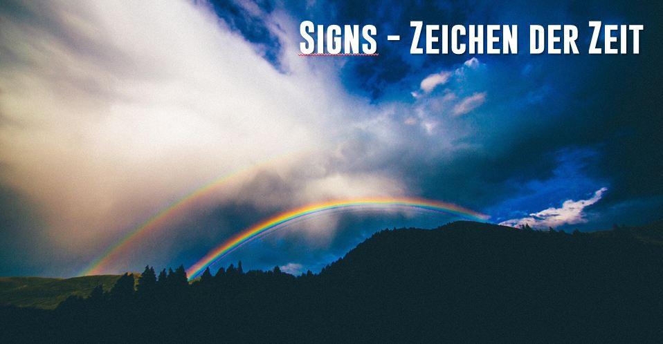 Signs Zeichen der Zeit