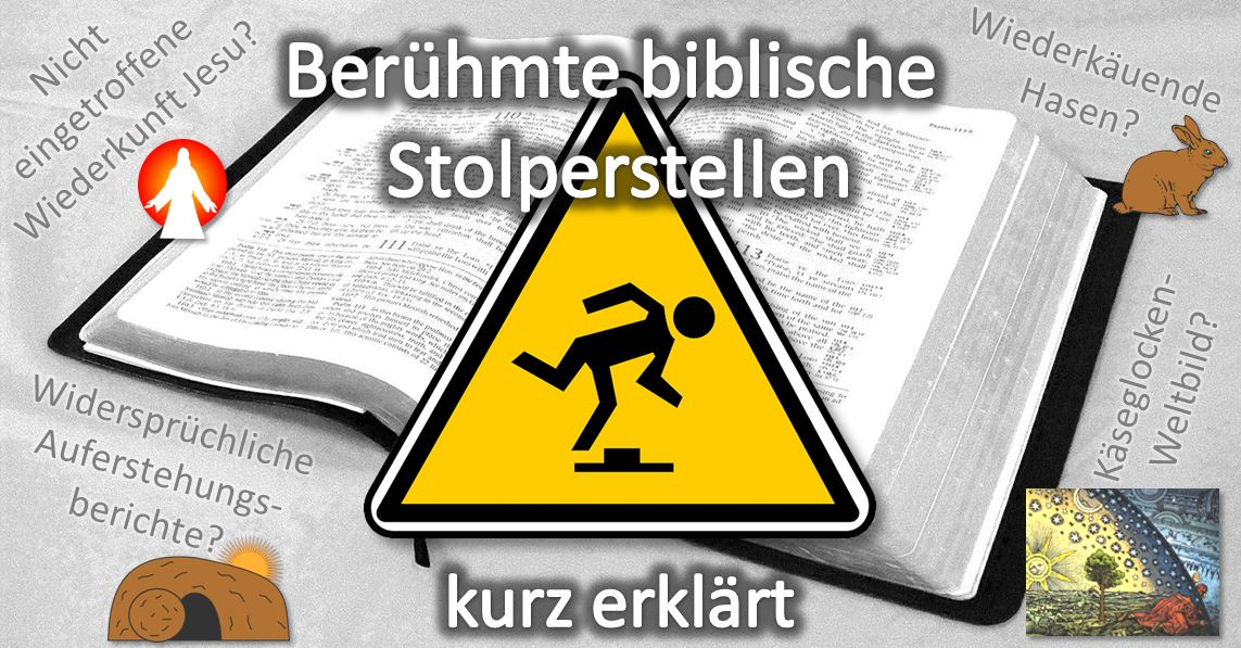 Blogbild berühmte biblische Stolperstellen