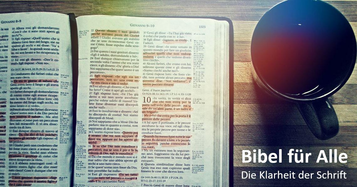 aussagen über die bibel